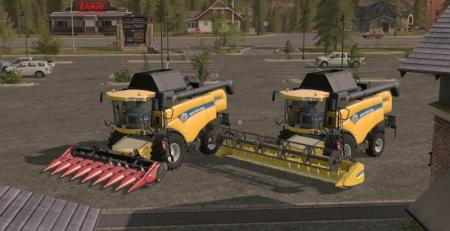 NEW HOLLAND CX 8000