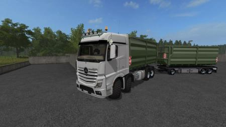 Mercedes Actros MP4 IT Runner 8x8 V 2.0