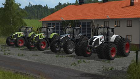 CLAAS Axion 900 series v1.0.1