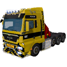 MAN TGX CATERPILLARD
