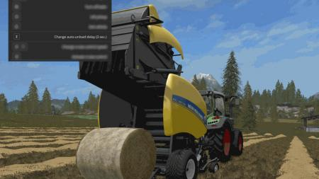 Automatic unload for round-balers 1.1.024
