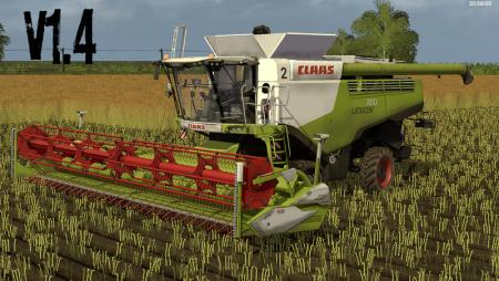 Claas Lexion 700 STAGE IV Pack V 1.4.1