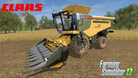ClaasLexion780 Pack V 1.5 By Eagle355th
