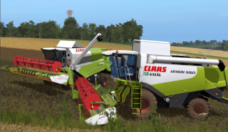 Claas Harvesters pack