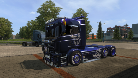 Carls1309 Scania R&S v 8.0 [1.27]
