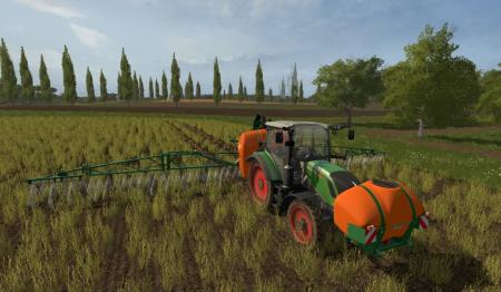 4Real Module 01 - Crop Destruction to All wheels