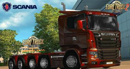 Scania Illegal V8 Reworked V5.0 [1.27x]