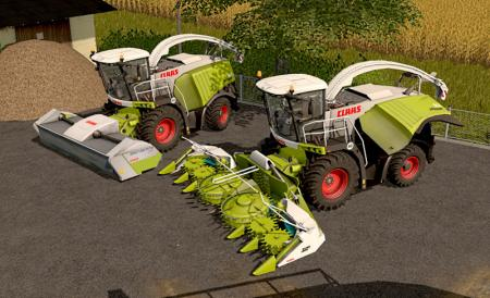 Claas Jaguar 900 Series Typ 497 V 1.1 Fix