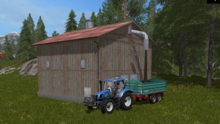 Woodchip Storage Placeable