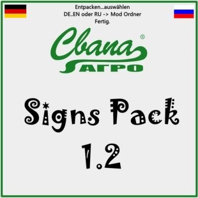 SVAPA Agro Sign Pack 1.2