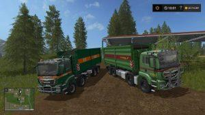 Man Tgs 6x6 And 8x8 With Hvac V4.0