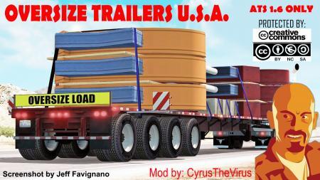Oversize trailers U.S.A.
