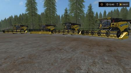 Mods New Holland Pack