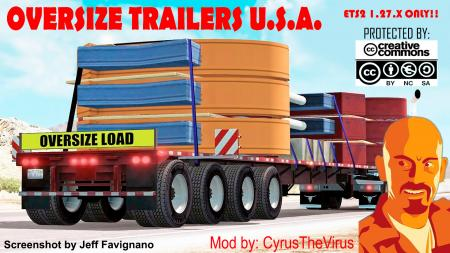 OVERSIZE TRAILERS USA