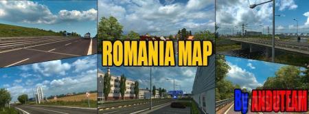 Romanian Map V1.3a ( Alpha )