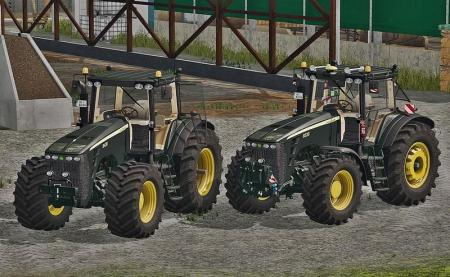 JOHN DEERE 8030 SERIES (BLACK LIMITED) V1