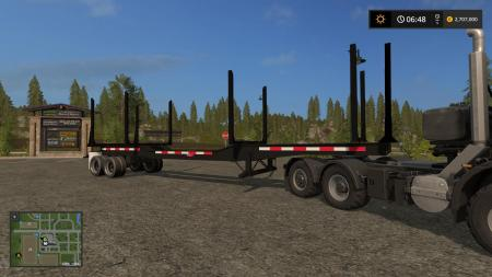KST2 PITTS MODEL LT40-8UL LOGGING TRAILER WITH AUTOLOAD V1.0