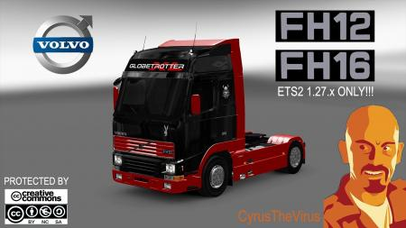 Volvo FH MK1 ETS2 1.27.x Mod + DLCS Addon