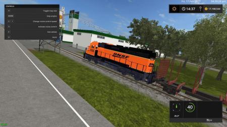 BSNF ORANGE TRAIN V1.0