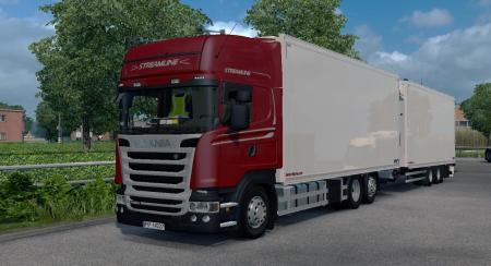 Scania R450 Streamline Tandem