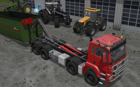MAN TGS 8x8 with HVAC System V3.0