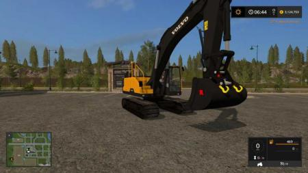 KST VOLVO EC300 WITH WORKING THUMB UPDATED CONTROLS v3.2