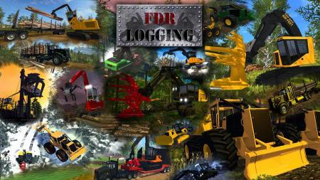 FDR LOGGING - FORESTRY EQUIPMENT V7