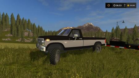CONVERTED FORD F-250 XLT V1
