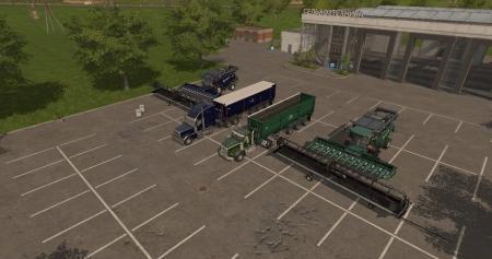 FS17 Harvesters,Trucks,Trailers,Headers.Pack V4