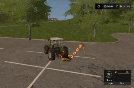 LAWN MOWER KDN-210 FOR FS2017 V1.0