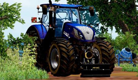 New holland T7 blue power