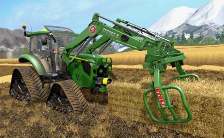 MOD TRACTOR JOHN DEERE 5M SERIES V 2.5 FINAL FOR FARMING SIMULATOR 2017
