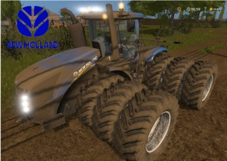 "Mod ""New Holland T9.450 V 2.0"" farming simulator 2017"