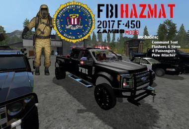 FBI HAZMAT F-450 TRUCK V1.0