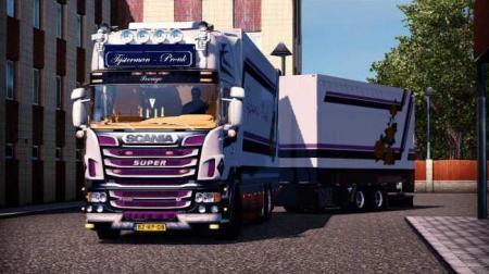 Scania R500 Tijsterman Truck + Trailer [1.27]