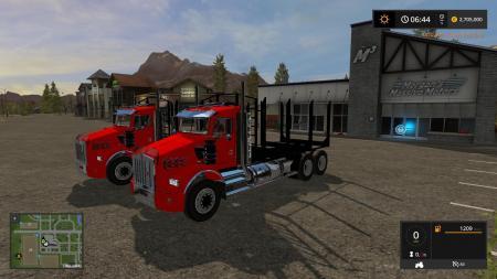 KW T800 LOG TRUCK PACK V1.0