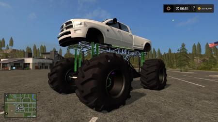 DODGE MUD TRUCK LIFTED V1.0