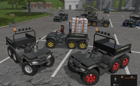 QUAD POLARIS 6X6 V1.1