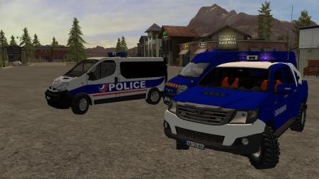 PACK GENDARMERIE - POLICE FS17 V2.0