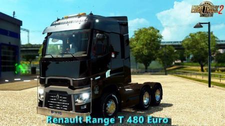 Renault Range T 480 Euro 6 v 6.0