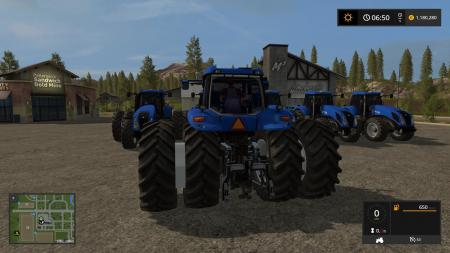 NEW HOLLAND T8 V3.0