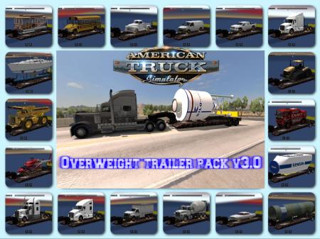Overweight Trailers 51 cargo