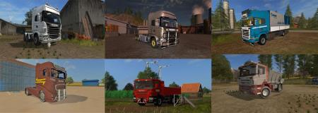 Scania Trucks Pack