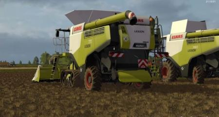 Claas Lexion 700 STAGE IV Pack v 1.4.2 Rus