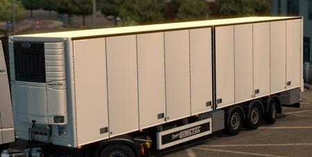 Limetec Trailer with steering axes 1.27
