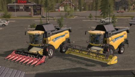 New Holland CX 8080 a 8090