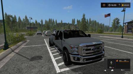 FORD F350 WORK TRUCK V1.1 EDITED