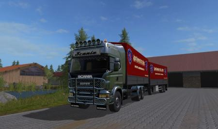 Scania R730 mit Planenaufbau UAL V 1.0