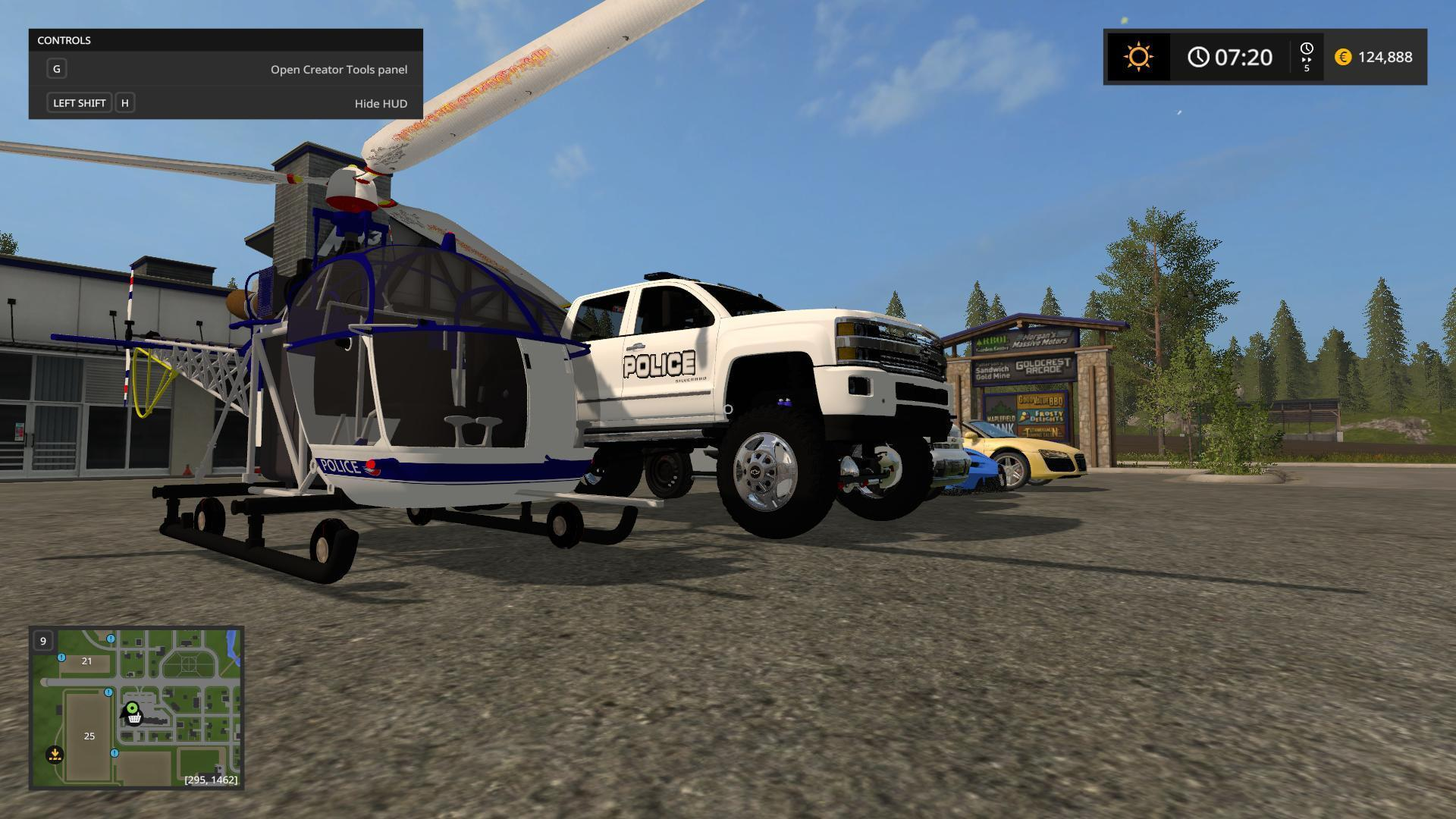 Police pack farming simulator 17 v1 0
