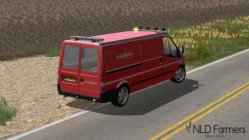 Nld Ford Service Van V1 0 187 Gamesmods Net Fs19 Fs17